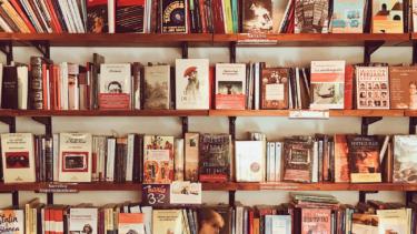田舎の書店。『詩』コーナー